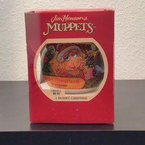 Rare Jim Henson's Muppets Christmas ornament Vtg